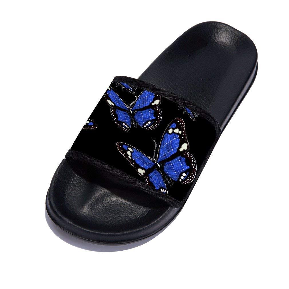 Boys Girls Cute Shower Open Toe Slipper Soft Non-Slip Slides Sandal (Little Kid/Big Kid)