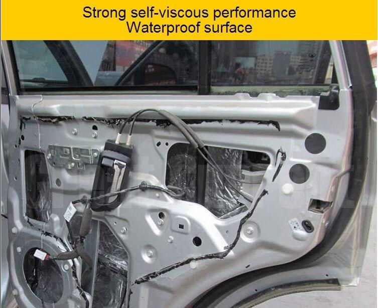 100x 30cm Car Heat Shield Turbo Sound Exhaust Insulation Thermal Reflective  Foil - Buy 100x 30cm Car Heat Shield Turbo Sound Exhaust Insulation