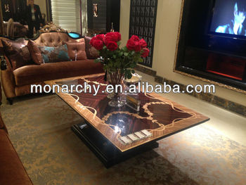 CJ6001Q 1 New Classic Furniture Hand Carved Coffee Table
