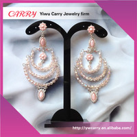 Original handmade fashion quality jewelry crystal women earring for promotional gift
