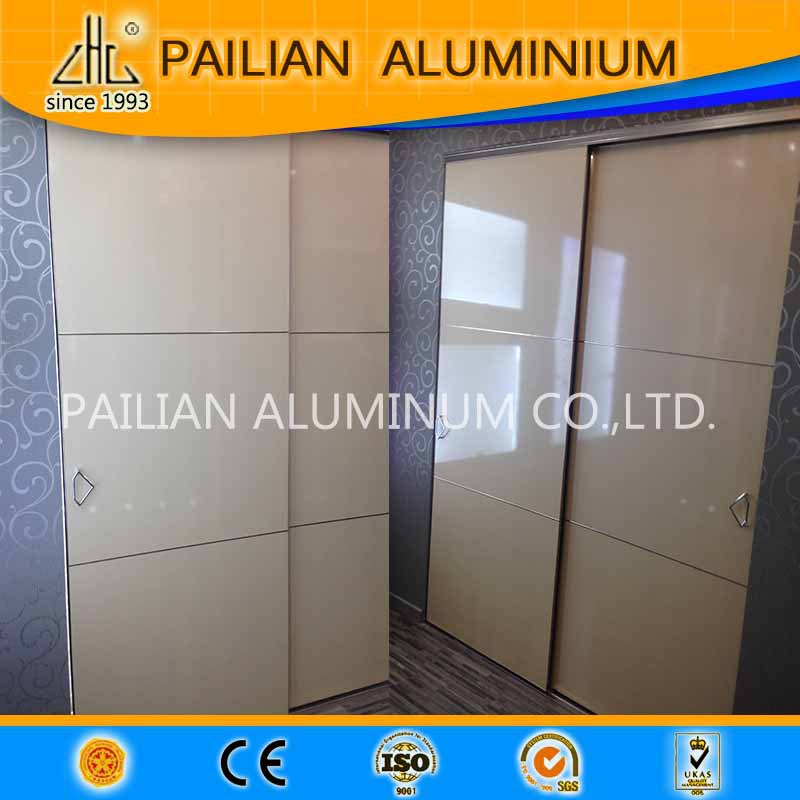 Uk price of aluminum frame mdf wardrobe sliding door for Aluminum sliding glass doors price