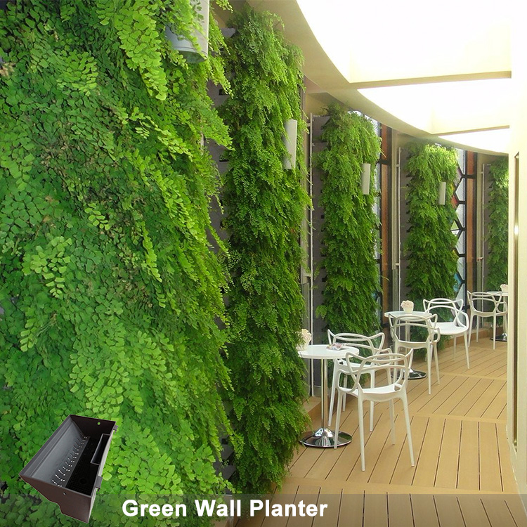 Vertical Living Wall hydroponics vertical living wall planters vertical green wall system
