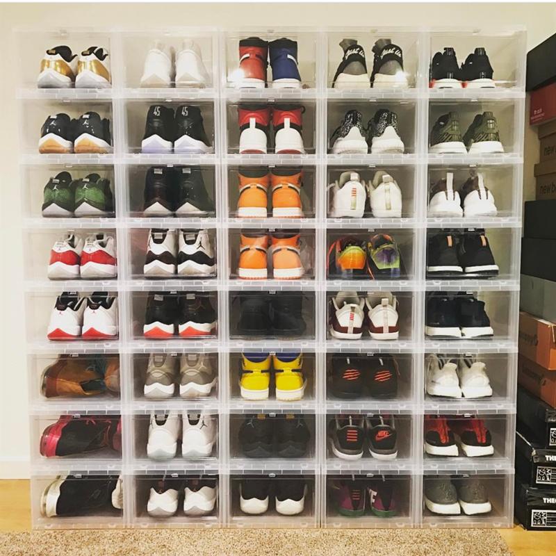 Home Storage Organization Whole Custom Drop Front Shoe Box Product On Alibaba