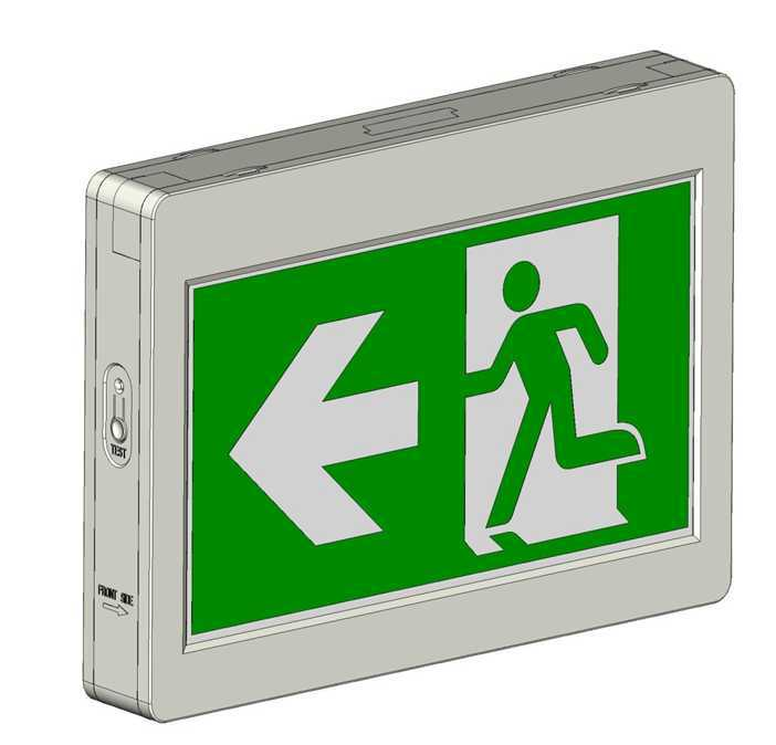Cbr-880 Cul Csa Ce Led Emergency Exit Sign Running Man