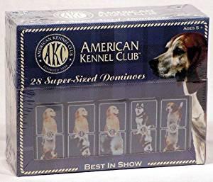 American Kennel Club Dominoes