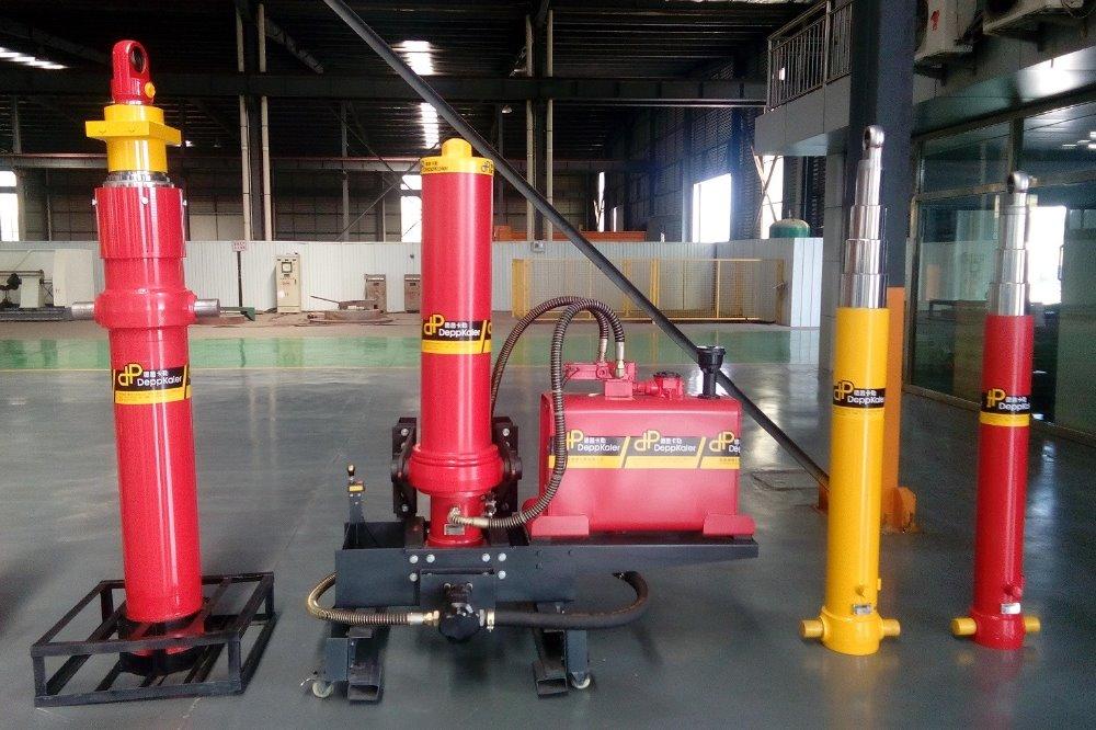 FC front tipping telescopic hydraulic system , Deppkaler brand VS HYVA