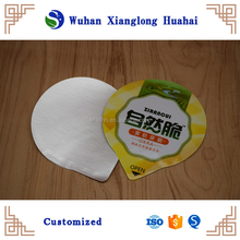 Custom different type Yogurt cup aluminum foil cover/aluminum foil lid for yogurt