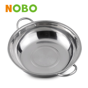 Eco-friendly and healthy stainless steel soup pot stock pot for housewife