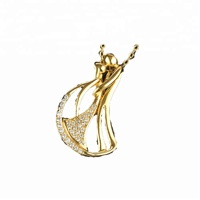 exquisite pendant material of 14K gold