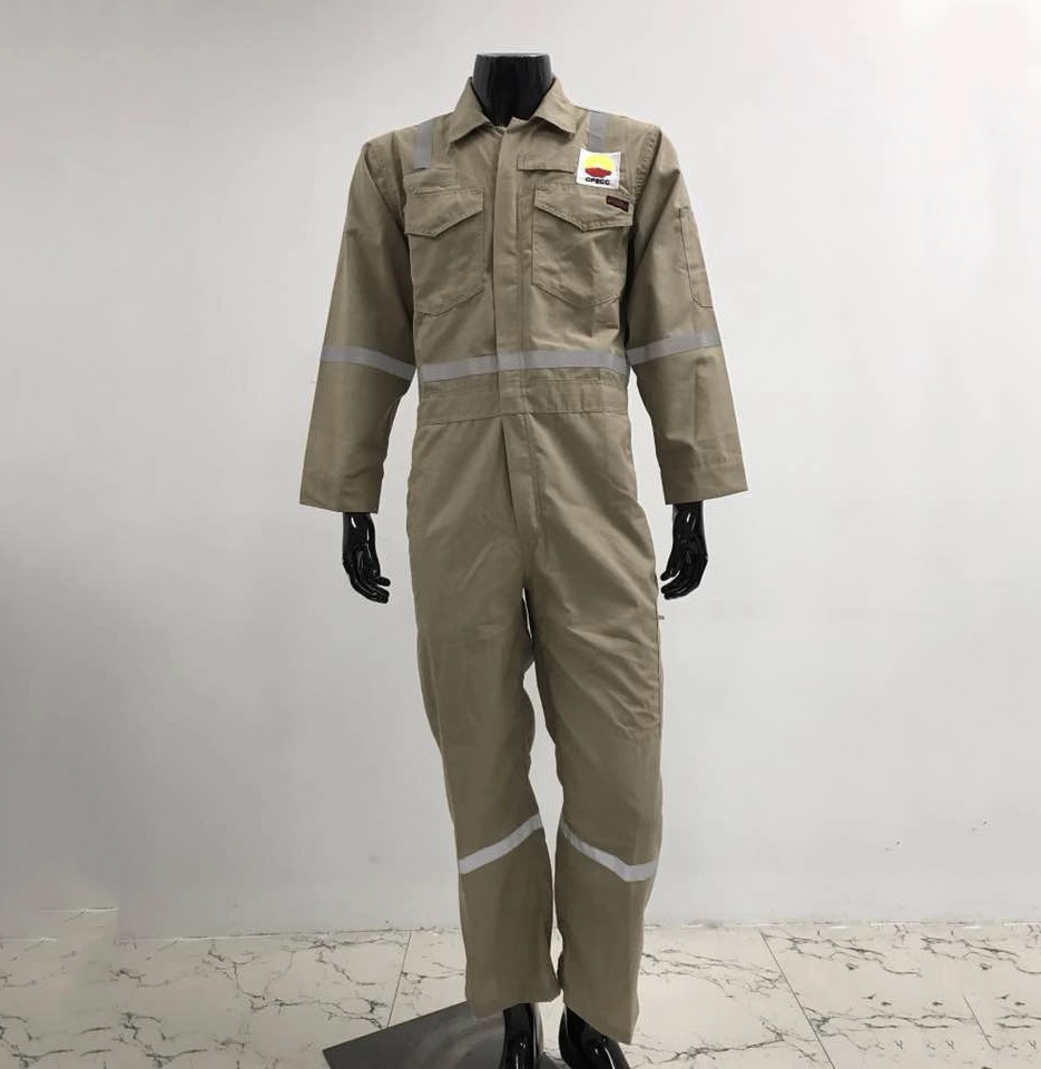 fr coverall with  reflective tapes fire retardant clothes antistatic coveralls