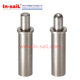 Stainless steel micro spring loaded pin plunger short type