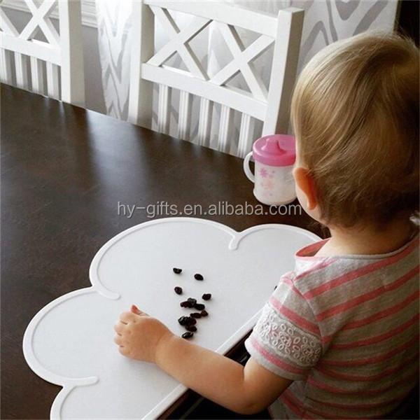 bpa free placemat for baby waterproof silicone baby table mat