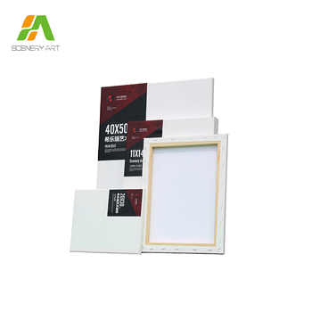wholesale custom size blank art canvas stretched art canvas frames