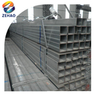 Gi pipe Q195 Q215 Q 235/galvanized rectangular steel pipe
