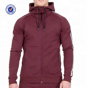 wholesale custom outdoor clothing fashion fleece cotton streetwear men hoodies mens hoodie with zipper
