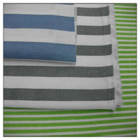 hot sale grey and white striped fabric