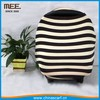 multi stripe mum stretchy breastfeeding cover nursing scarf baby car seat cover