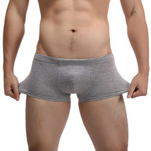 JECKSION Hot Fashion Sexy Cotton Men's Underwear,4Colors High Qualit Shorts Mens Comfortable Male Panties Underwear