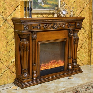 Indoor decorative resin master flame electric fireplace manufacturer