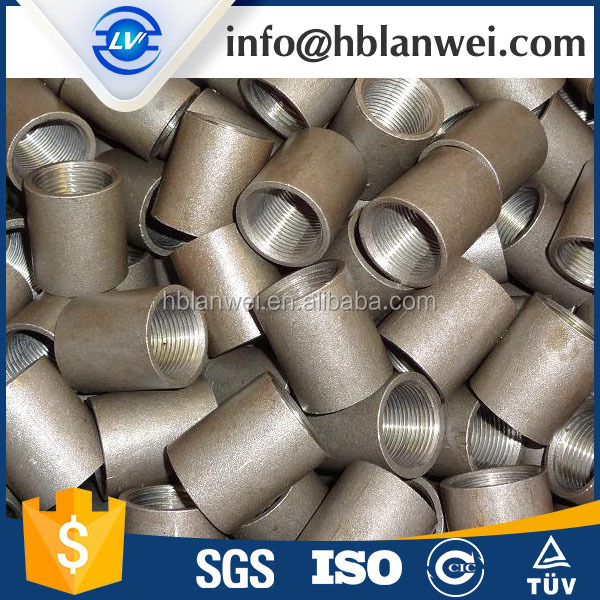 high quality coupling fitting, malleable cast iron pipe fitting, nps pipe fitting