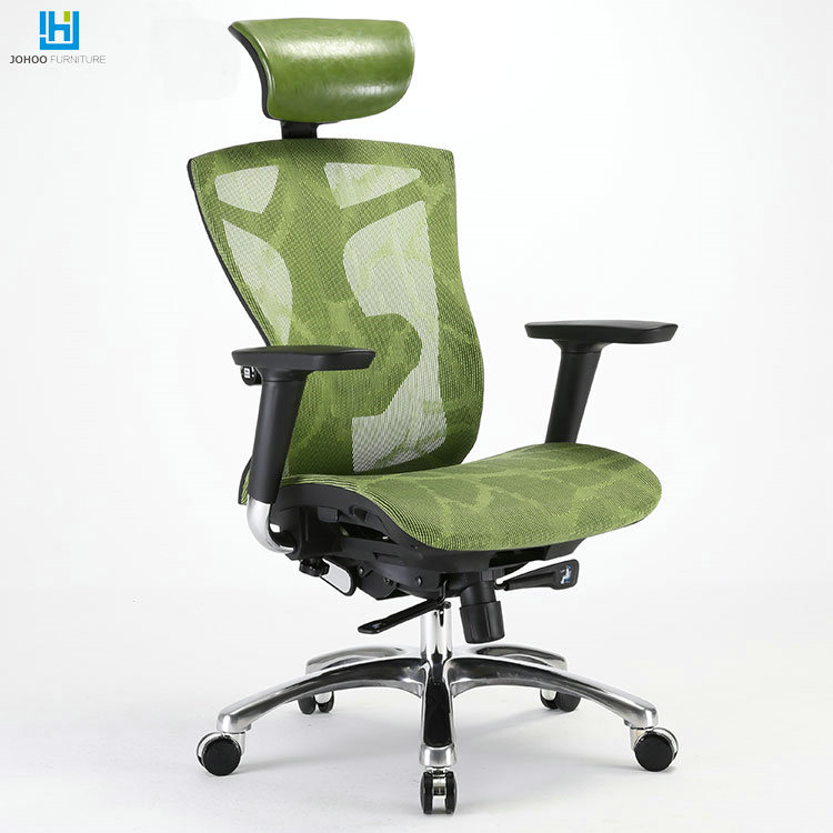 Longlife Ergonomic executive Fabric Office Chair Swivel High Back green