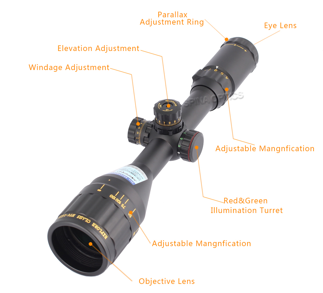 SNIPER NT 4-16X50 AOGL Red Green Illuminated Optics Sight gun rifle scopes for tactical hunting