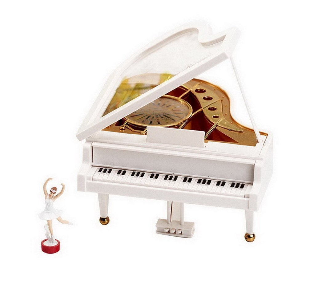Get Quotations Laputa Piano Dancing Girls Rotating Music Box Vintage Mechanical Classical Lovely Ballerina Girl Octave Musical