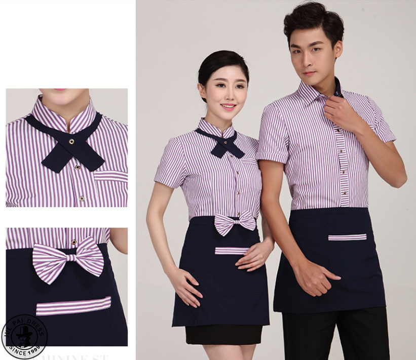 Hotel front office uniforms designs for Office uniform design 2016