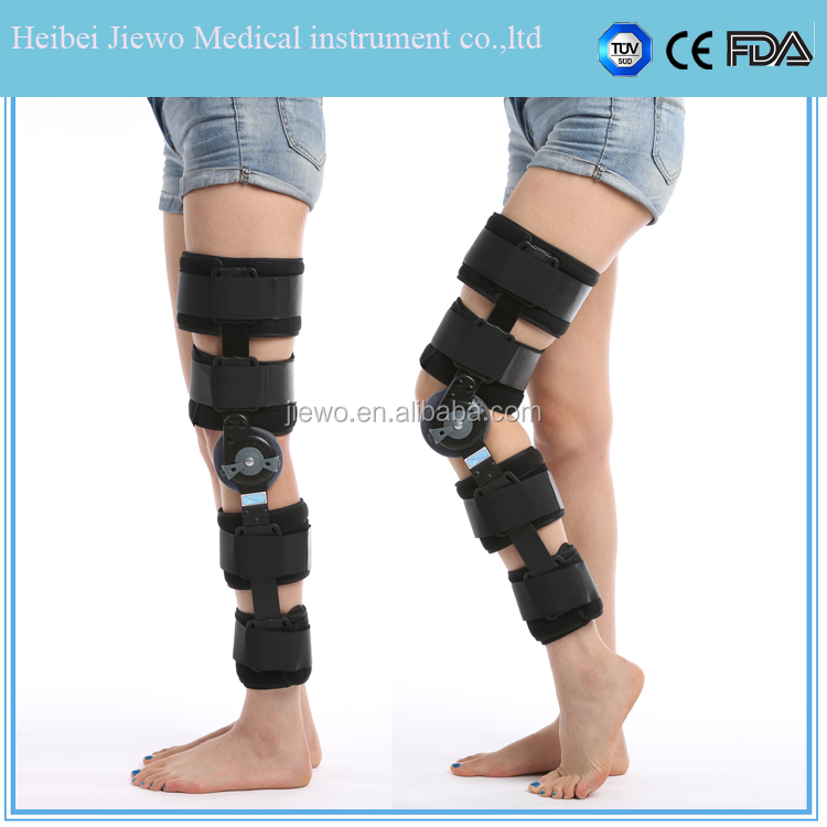 Hinged Knee cap protector / Orthopedic leg brace with factory price