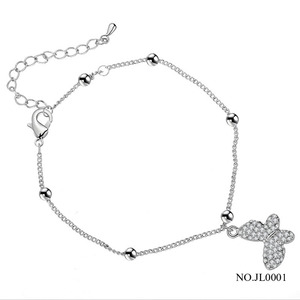 Simple Turtle Butterfly Anklets New Heart-shaped Star Anklet Foot Wholesale