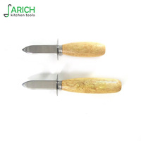 (JYKTO-A019) hot sale general wooden handle oyster knife