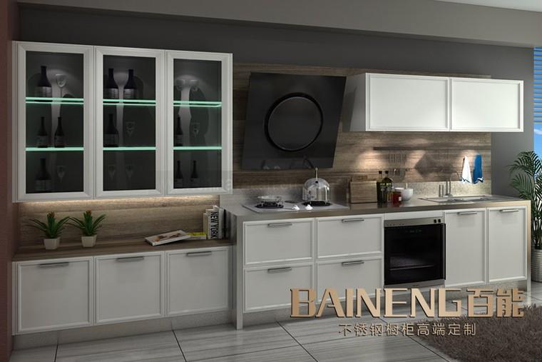 Model Baru Dinding Dapur Kabinet Gantung Dengan Kaca Pintu Untuk Desain Modern
