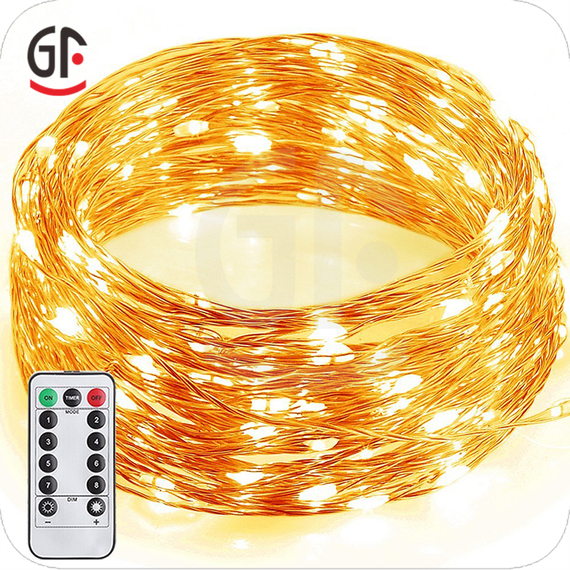 New 2017 Decoration Light Rice LED Party Copper Wire Fairy String Lights
