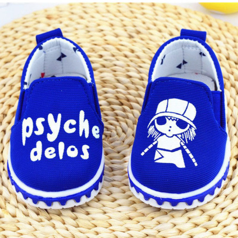spring autumn AB shoes soft soled canvas shoes baby toddler shoes for 0 2 years