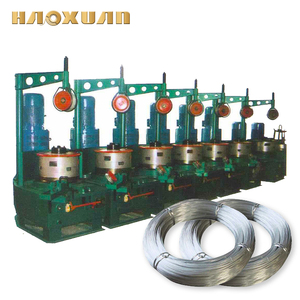 Low price used copper steel nail wire drawing making machine