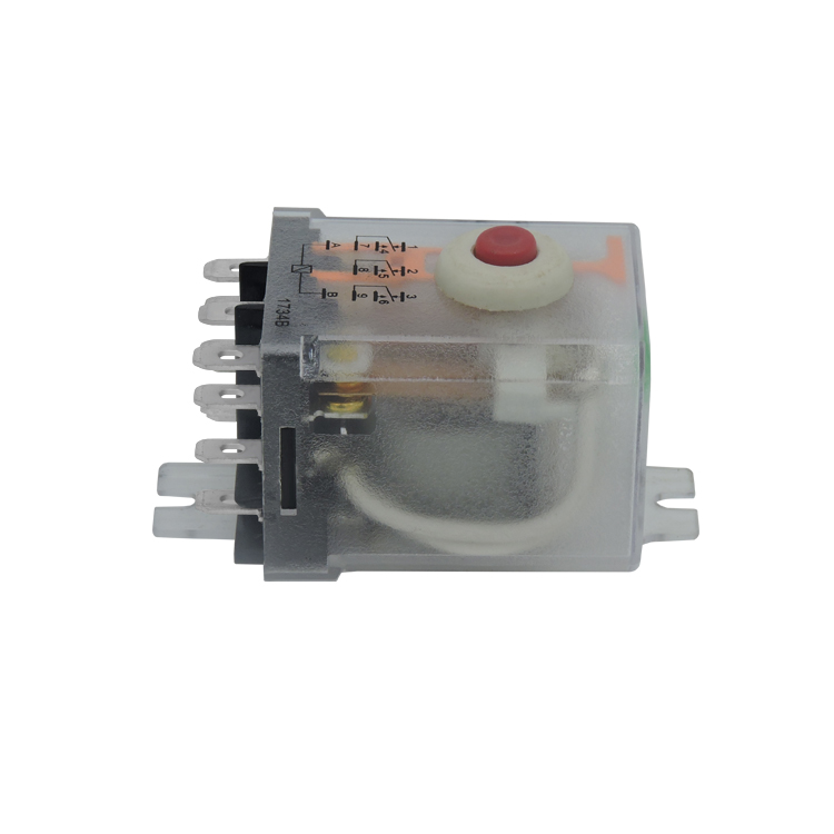 Factory made Large capacity 3PDT zigbee relay with manual test button