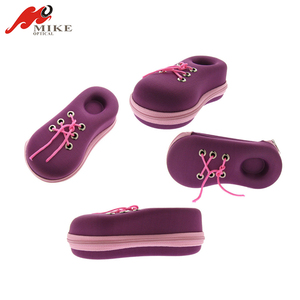 Newest Durable Using Funny Car Shoes Carrying Glasses Case For Kids