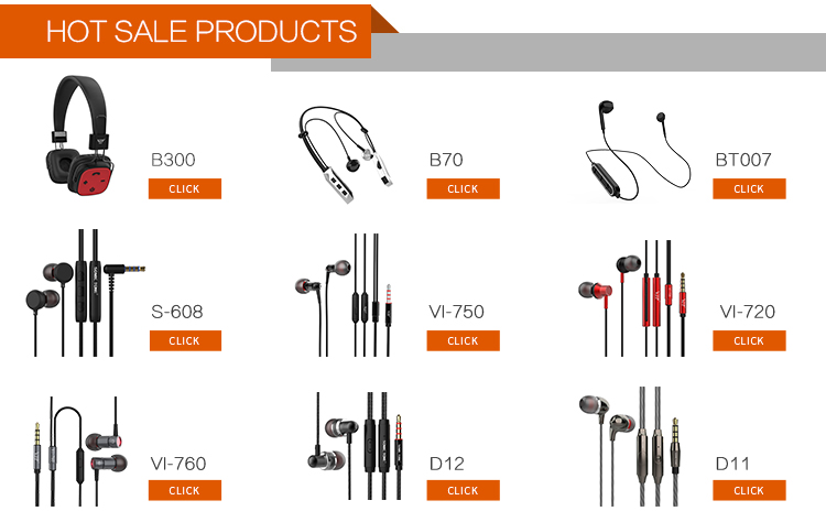 Earbuds with External Microphone Audio Headphone Audio Jack Headset Microphone oem Wired Earphone
