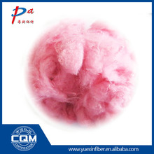 Chinese supplier achievement of prompt colored fiber environmentally friendly recycled polyester fiber