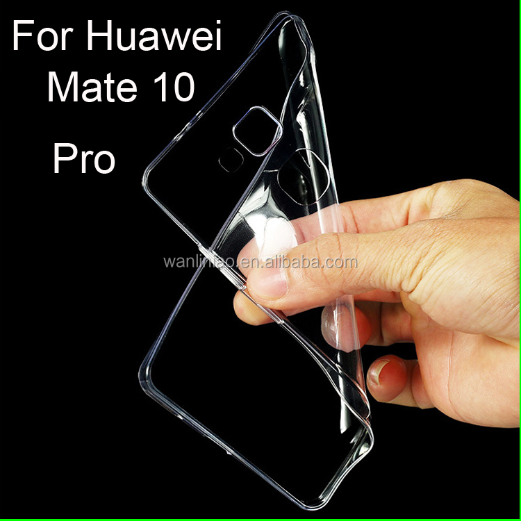 Mobile Phone Accessories Transparent Clear TPU Ultra Thin Cover Case For Huawei Mate 10 Pro Soft Case