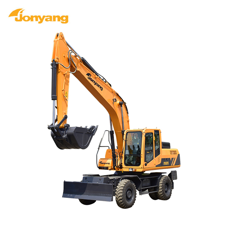 High quality construction machine wheeled excavator