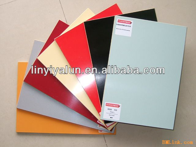 melamine laminated MDF board for furniture from China