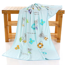 Customized children blanket wholesale cheap absorbent water microfiber baby wash towel