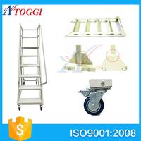 200-300kg narrow metal quick step ladder cart