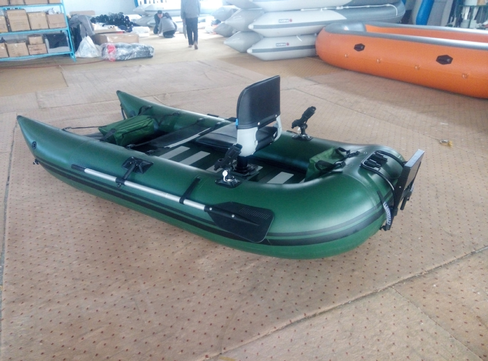 300cm Pvc Cheap Frameless Inflatable Boat With Electric