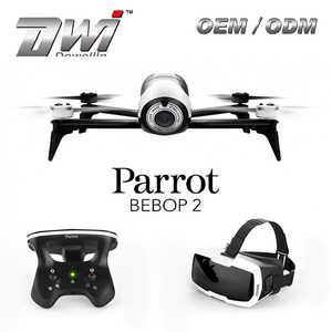 DWI Parrot Bebop Drone 2 WIFI FPV RC GPS Quadcopter with Skycontroller and FPV Cockpitglasses Genuine
