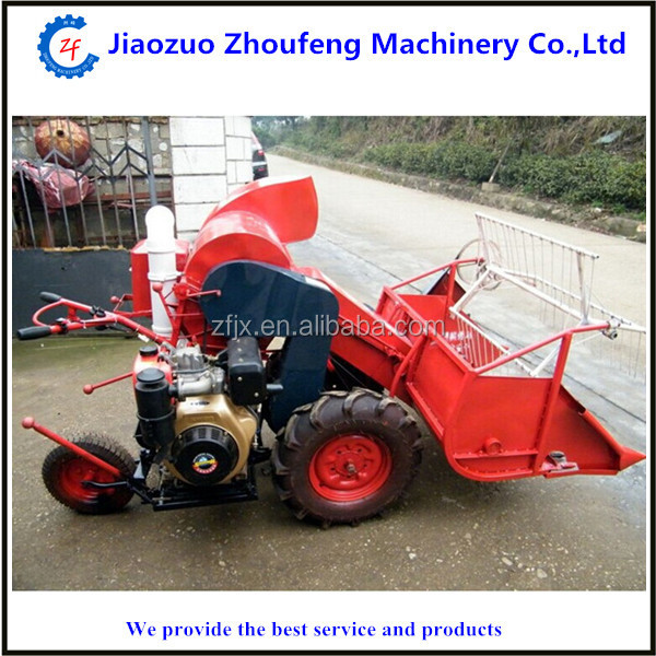 Hot sale mini wheat combine harvester for small or medium size farms