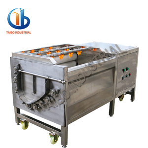 Industry and commercial used electric potato peeler/potato peeling machine
