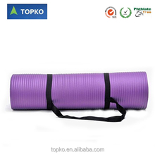 1/2-Inch Extra Thick High Density NBR Exercise Yoga Mat for Pilates