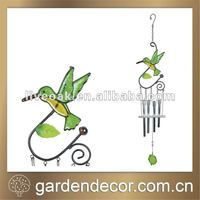 Decorative Garden Accents Hummingbird Wind Chimes